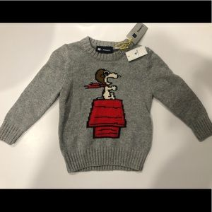 Baby GAP snoopy sweater- toddlers kids